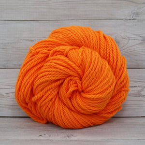 Luna Grey Fiber Arts Apollo Yarn | Colorway: Safety Orange