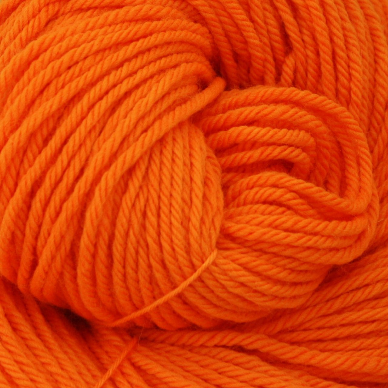 Colorway: Safety Orange | Dyed to Order Yarn
