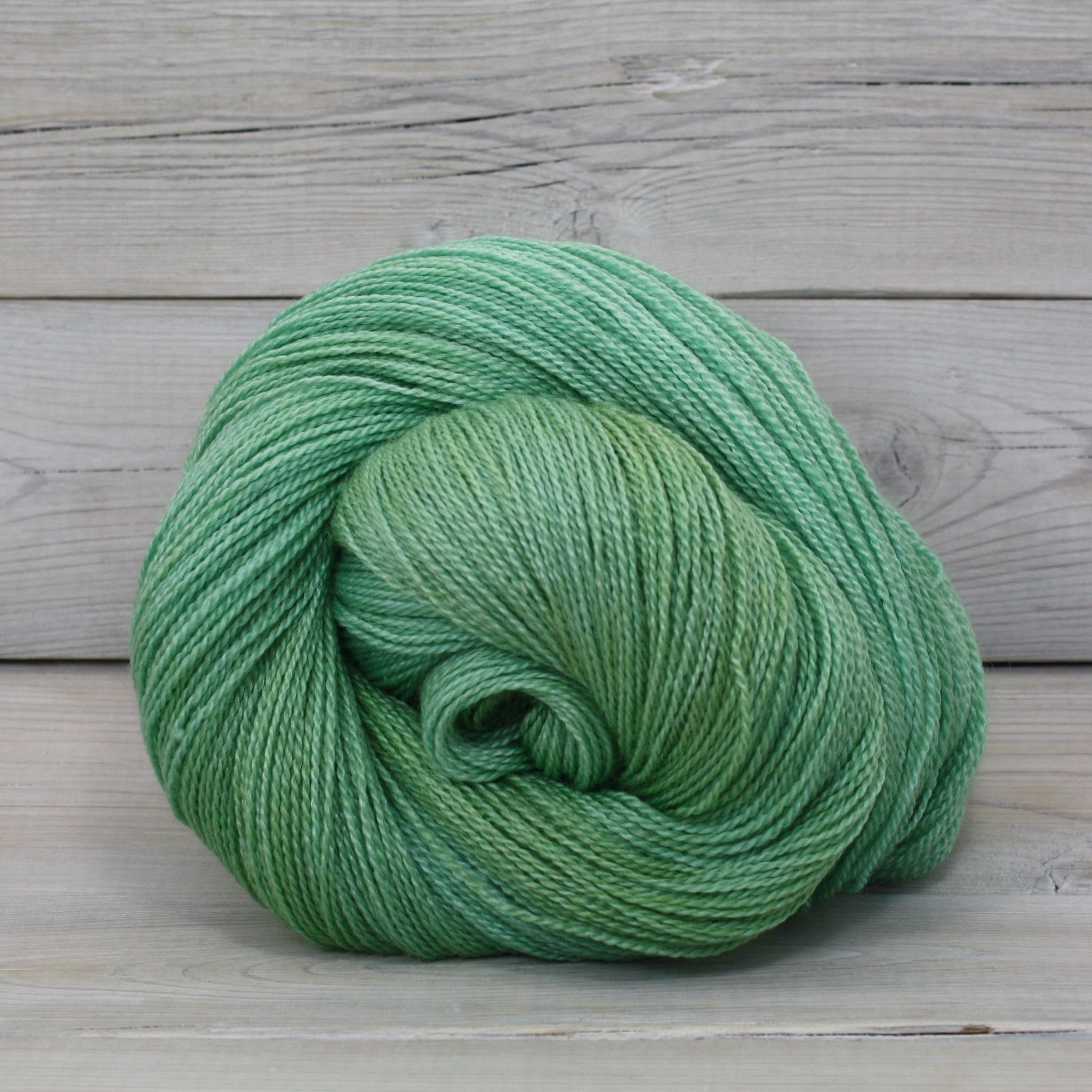 Luna Grey Fiber Arts Starbright Yarn | Colorway: Sea Glass