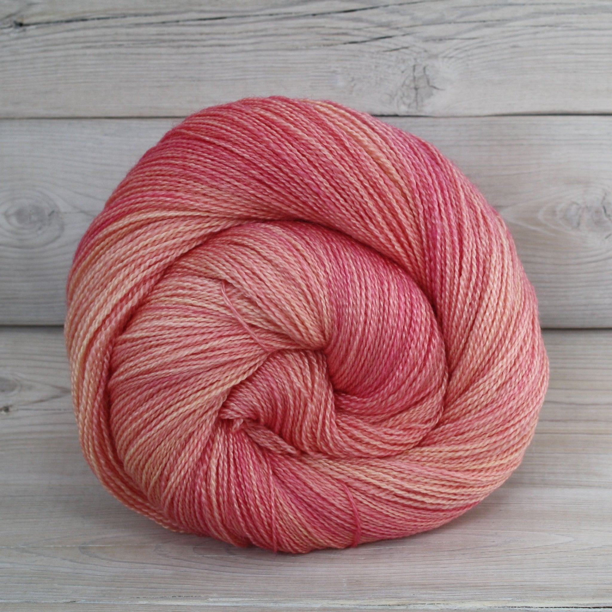 Luna Grey Fiber Arts Starbright Yarn | Colorway: Sorbet