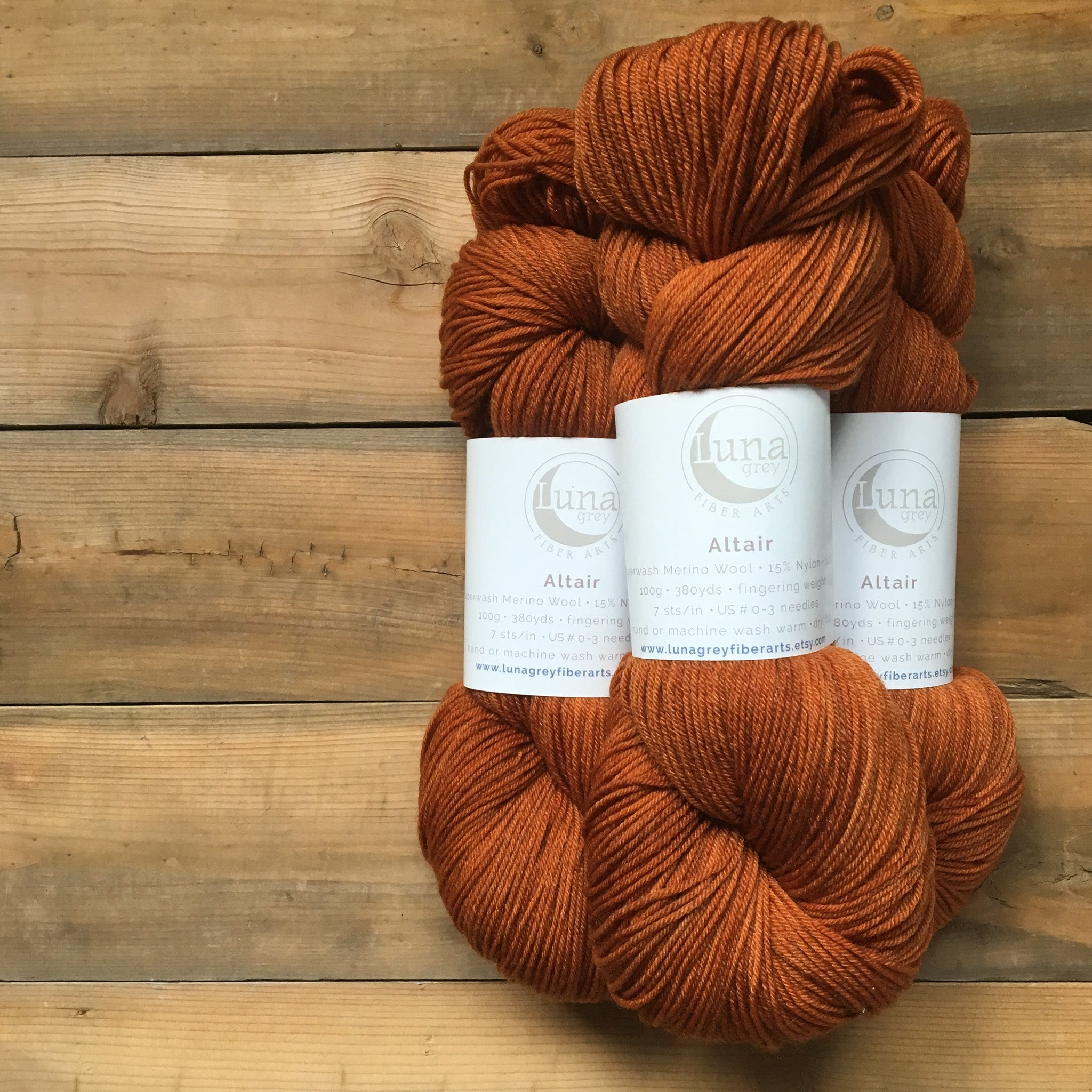 Altair Yarn | Colorway: Spice