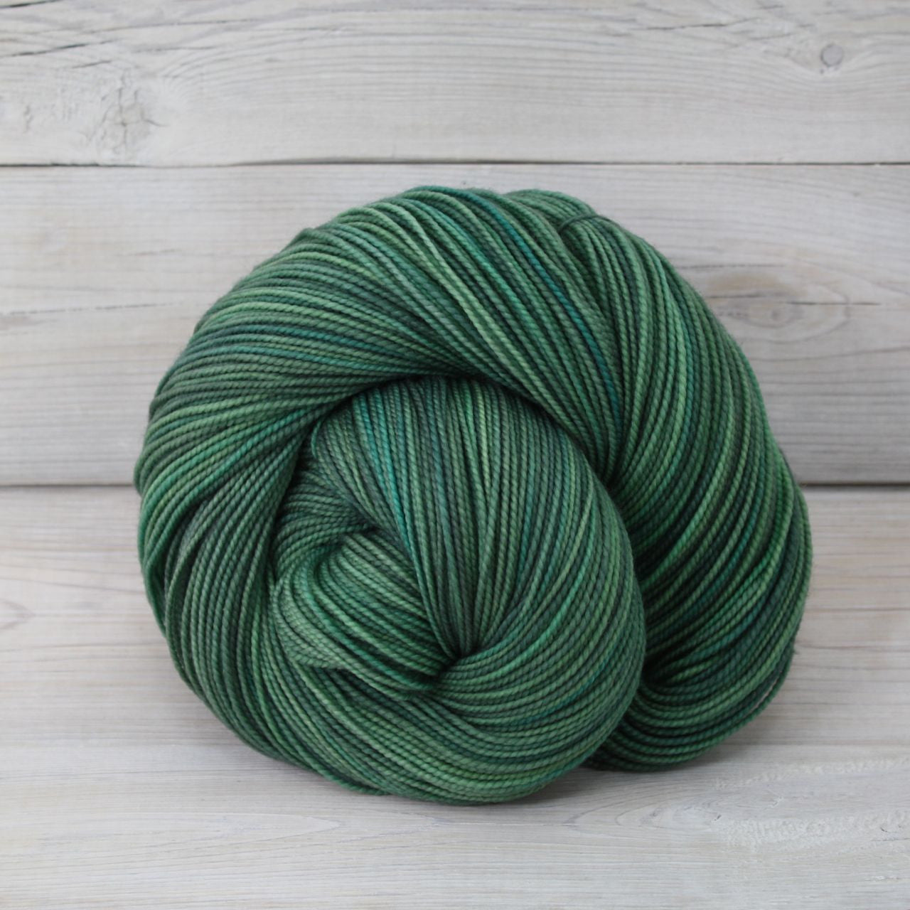 Luna Grey Fiber Arts Celeste Yarn | Colorway: Spruce