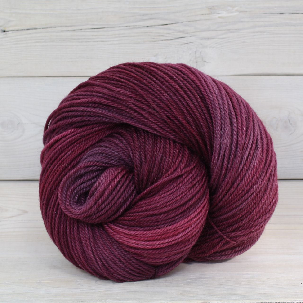 Luna Grey Fiber Arts Zeta Yarn | Colorway: Sugar Plum