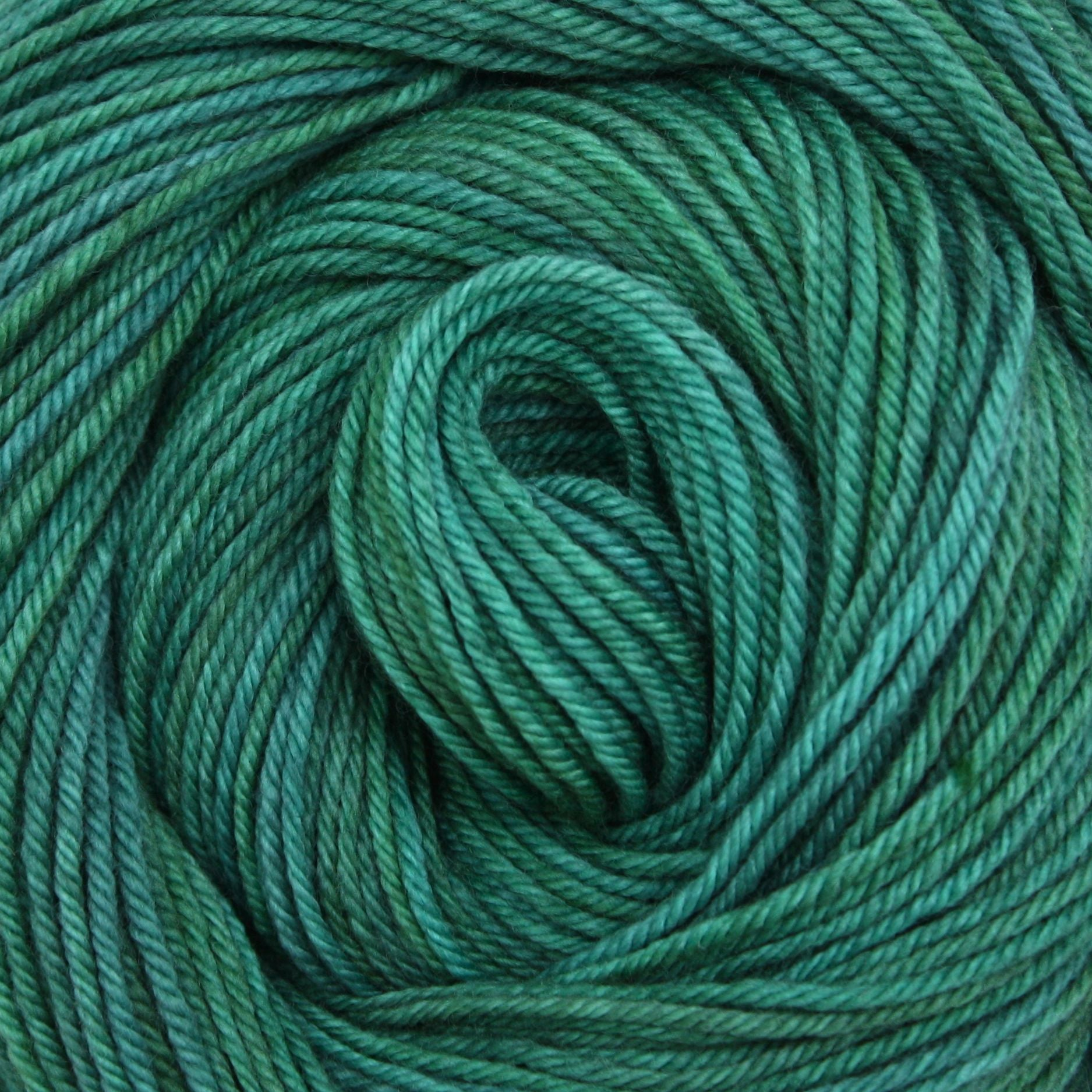 Nova Worsted Yarn  |  Colorway: Viridian