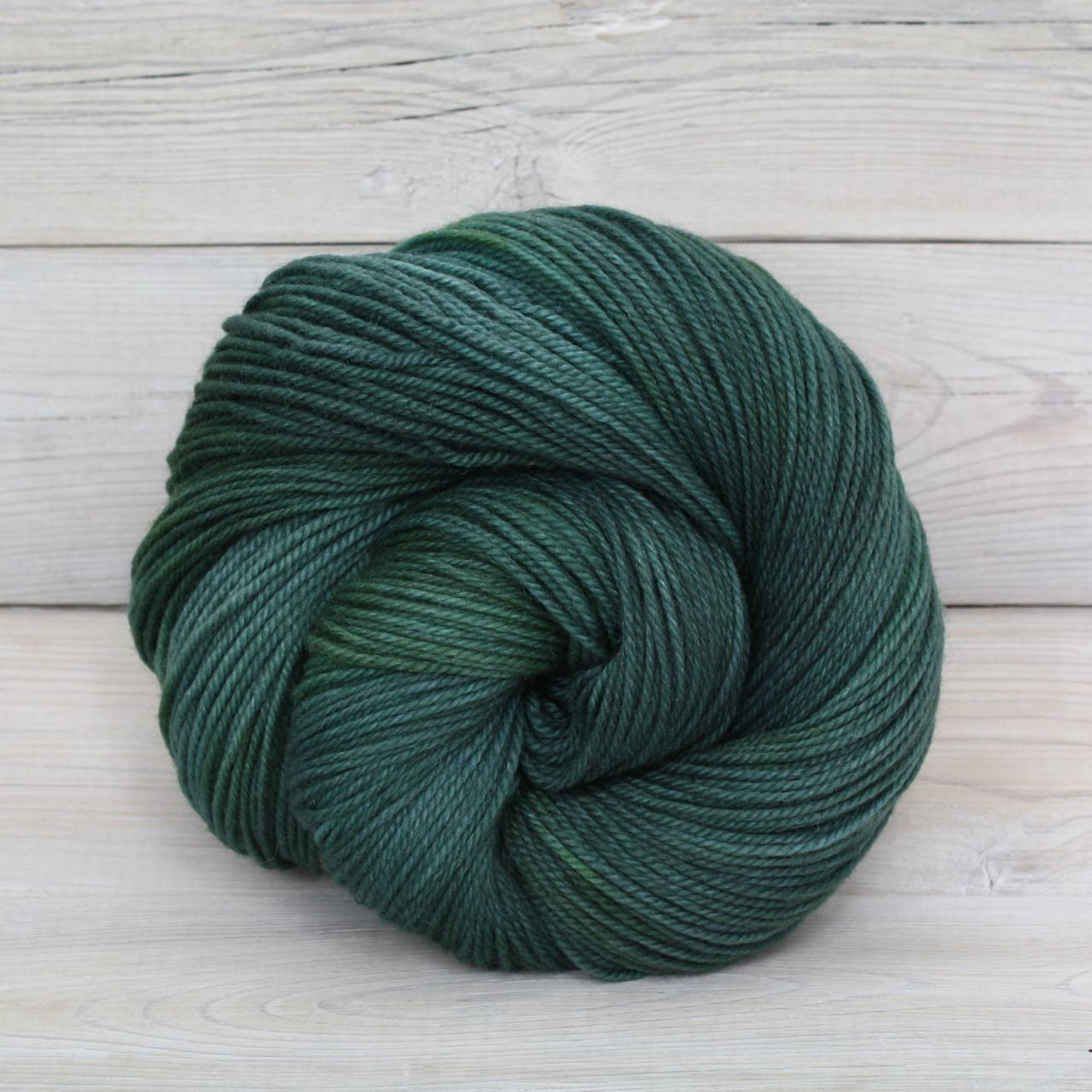 Luna Grey Fiber Arts Zeta Yarn | Colorway: Viridian
