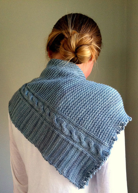 White Dwarf Shawl Knitting Kit | Pattern + Yarn