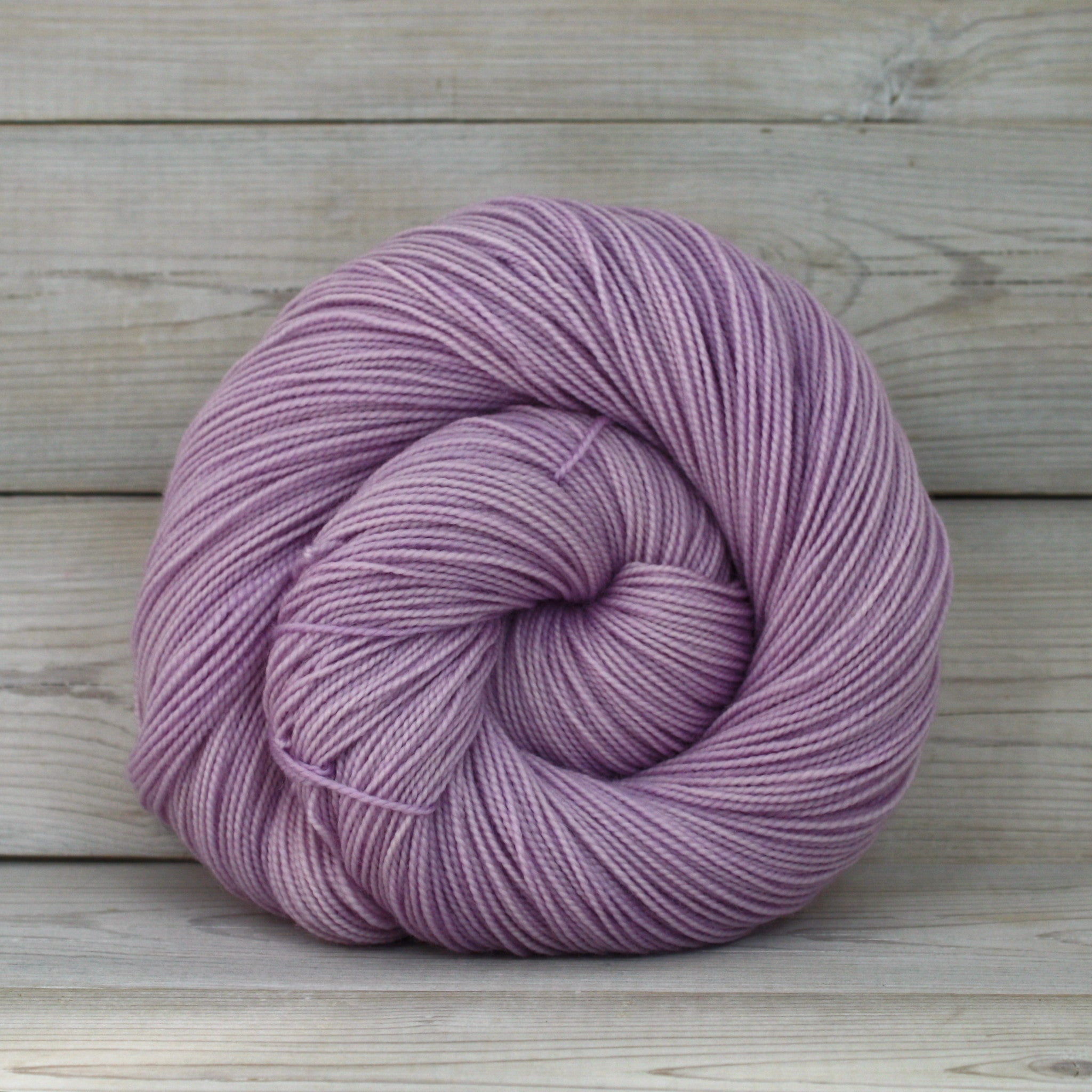 Luna Grey Fiber Arts Celeste Yarn | Colorway: Wisteria