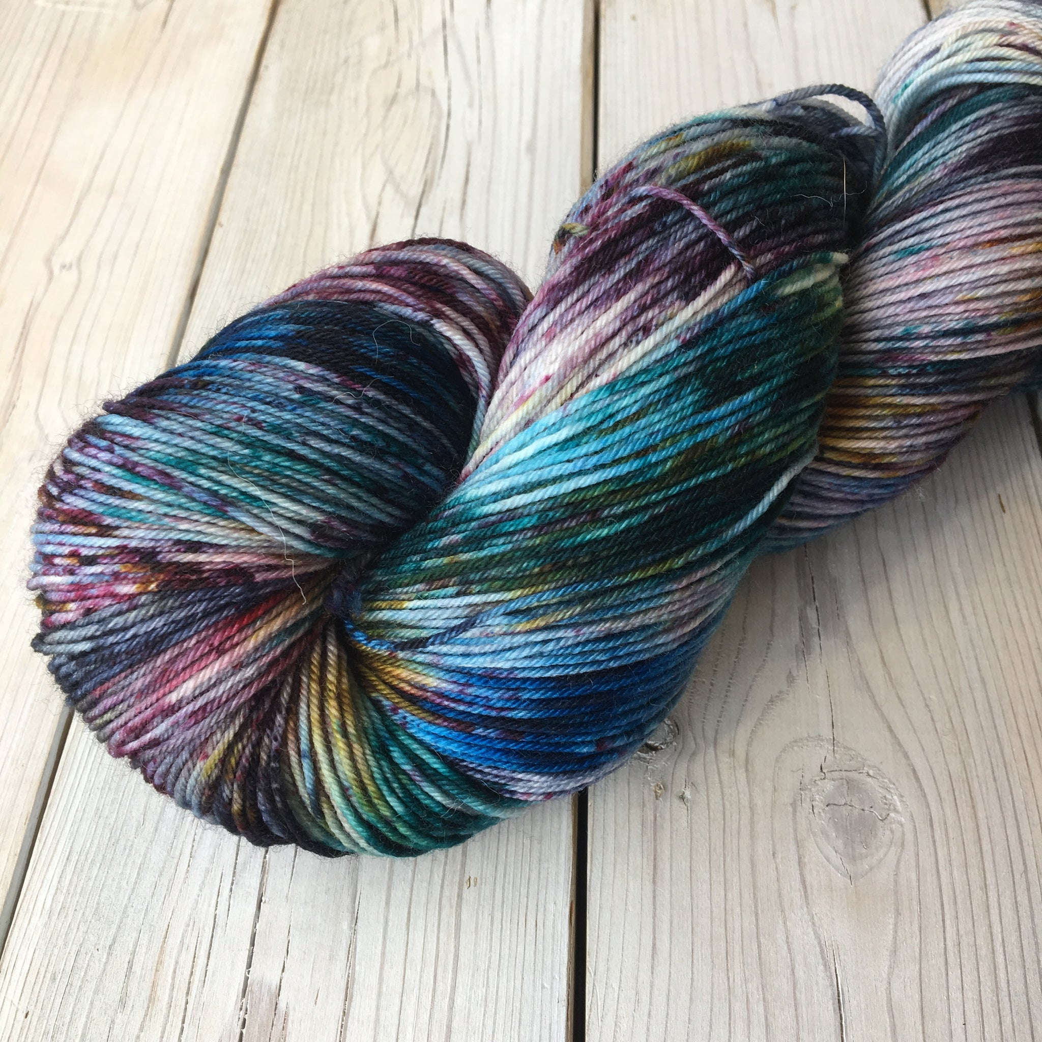 Athena Sock Yarn | Colorway: Soulrocker