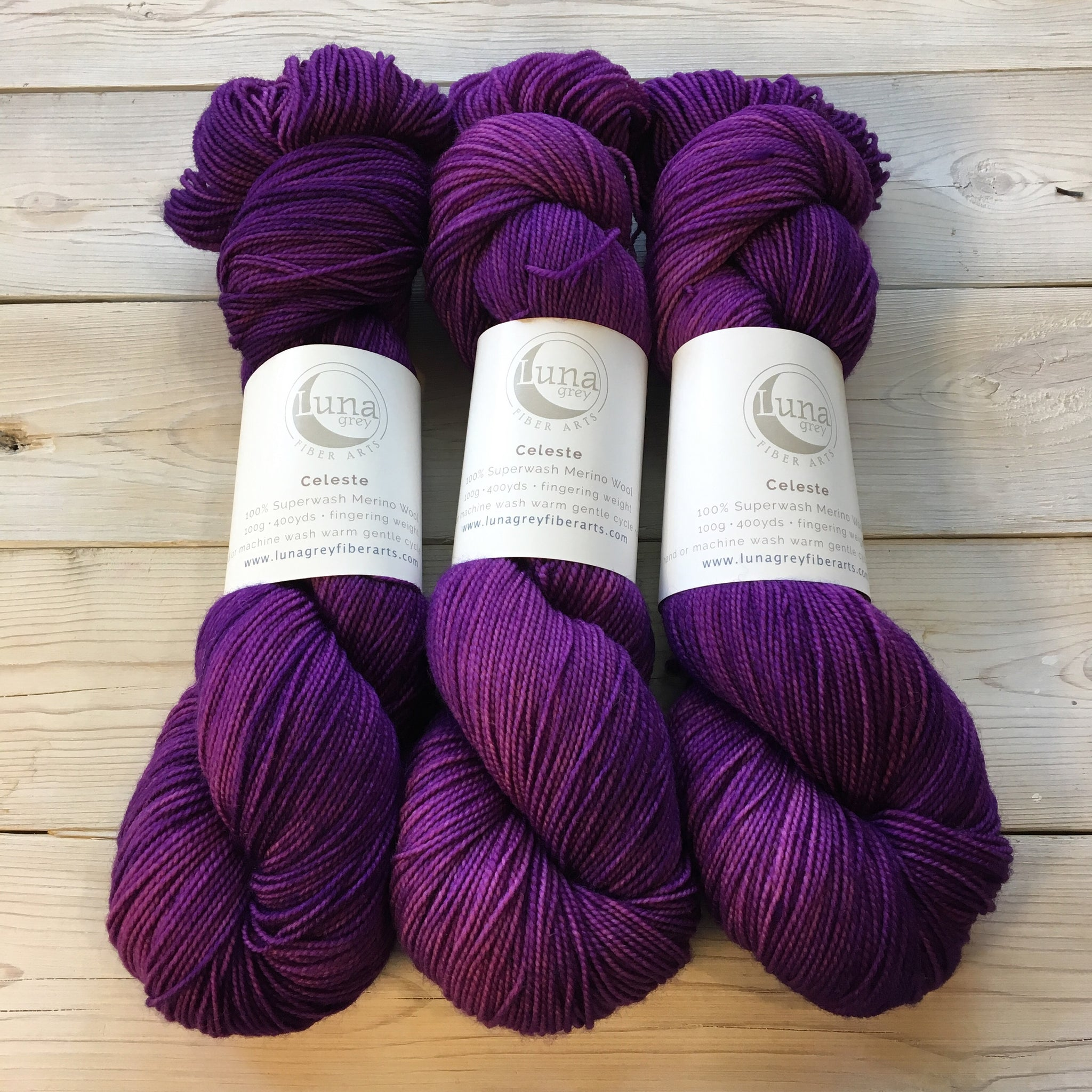 Celeste Yarn | Colorway: Jelly Bean | Overstock