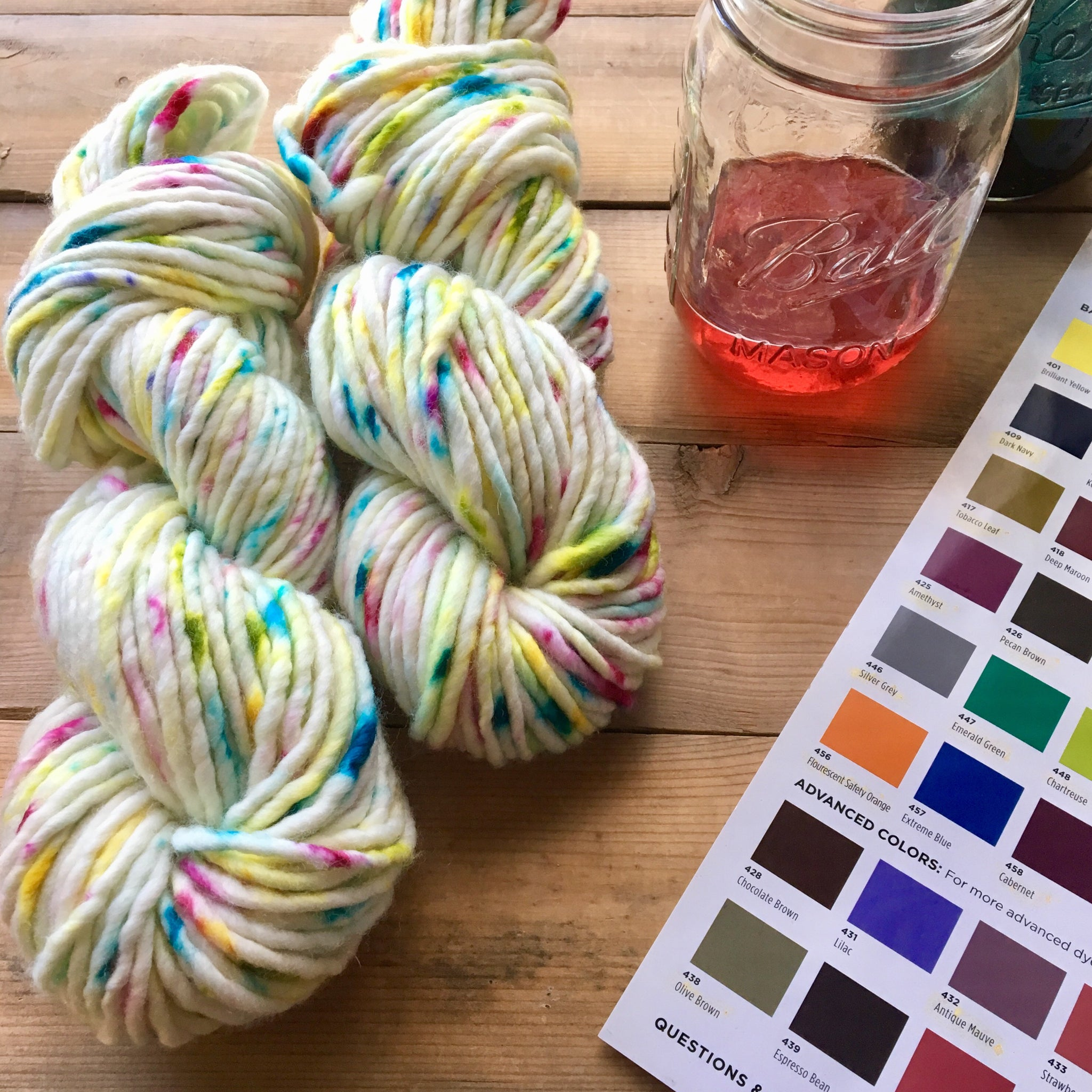 Atlas Yarn | Colorway: Wild Child