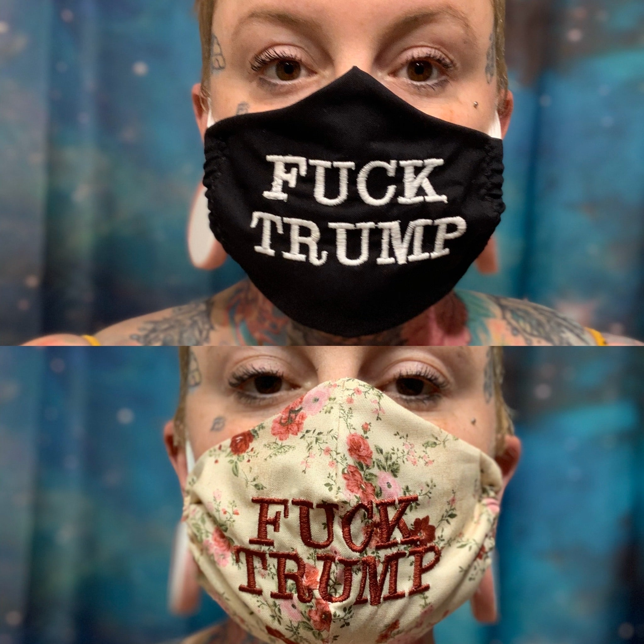 FACE MASKS•FUCK TRUMP