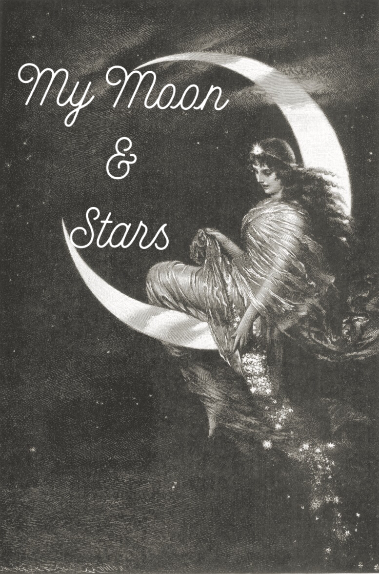 MY MOON & STARS•MID RISE•BLACK LACE