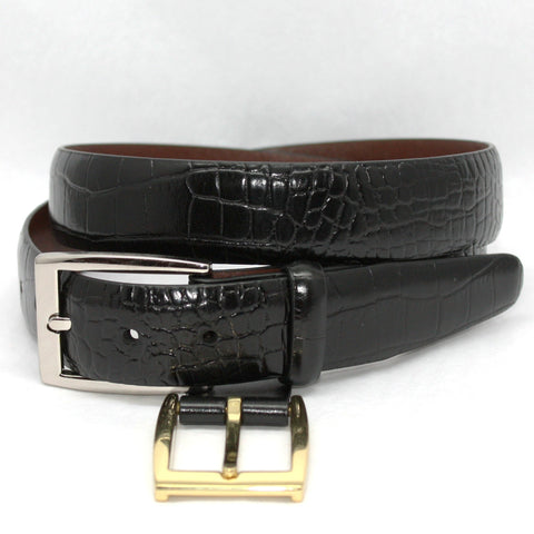 30MM Alligator Embossed Calf