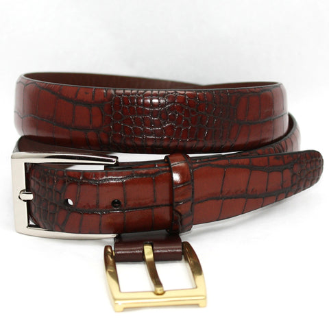 30MM Aligator Embossed Calf