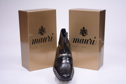 MAURI BLACK ALLIGATOR BOOT