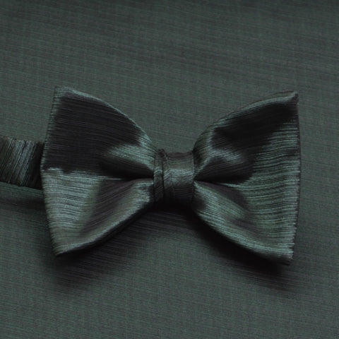 Holly Horizontal Bow Tie with Matching Pocket Square
