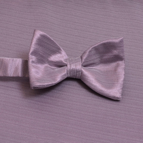 Orchid Horizontal Bow Tie with Matching