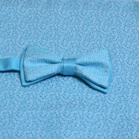 Malibu Mosaic Bow Tie with Matching Pocket Square