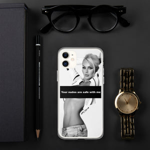 Your Nudes Are Save With Me - IPhone Case