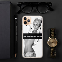 Load image into Gallery viewer, Your Nudes Are Save With Me - IPhone Case