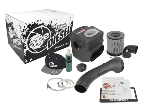 aFe Momentum HD Pro DRY S Cold Air Intake System Titan XD 5.0L 2016+