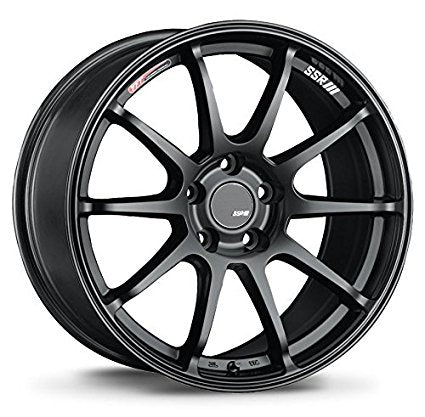 SSR GTV02 Flat Black 18x9.5 5x114.3 45mm