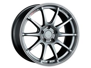 SSR GTV02 Phantom Silver 18x9.5 5x114.3 45mm