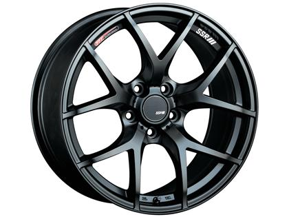 SSR GTV03 Flat Black 18x9.5 5x114.3 45mm