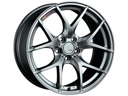 SSR GTV03 Phantom Silver 18x9.5 5x114.3 45mm
