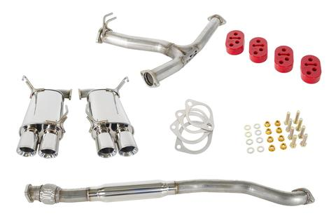 GrimmSpeed Catback Exhaust Non-Resonated - Subaru WRX/STI 2011+ Sedan