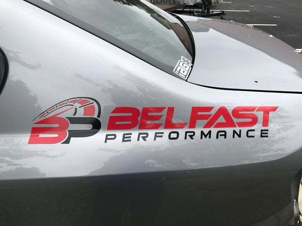 Belfast Performance Windshield Banner