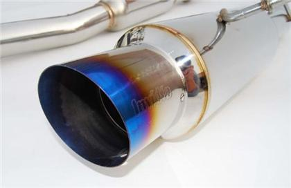 Invidia N1 Cat Back Exhaust Titanium Tip - Subaru WRX/STI 2002-2007