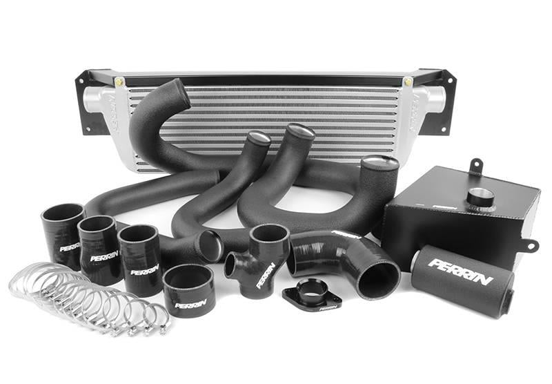 PERRIN Front Mount Intercooler Piping Kit Black - Subaru WRX 2015-2017