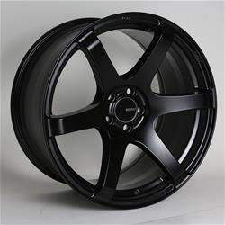 Enkei T6S Matte Black 18x9.5 5x114.3 +30mm