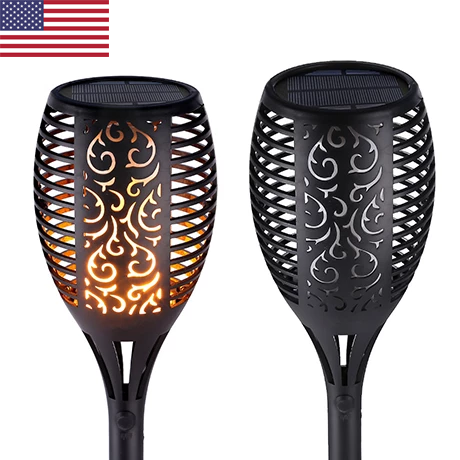 (50% OFF - Today Only) Ziggy Solar Flame Flickering Lamp Torch