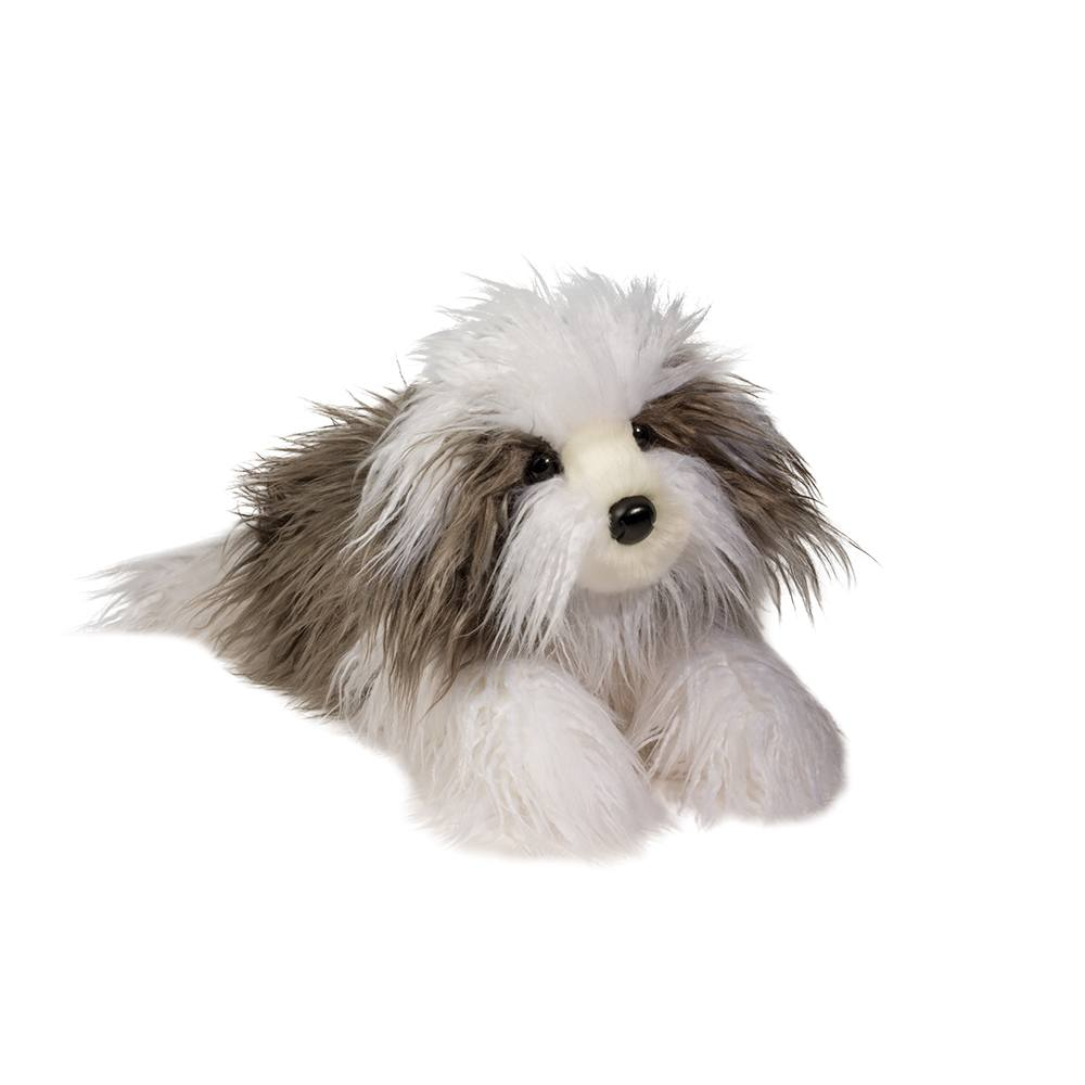 Gunner, Grey Sheepdog Plush
