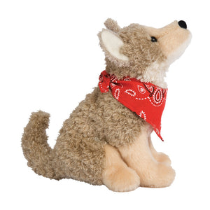 Trickster Coyote w/ Red Bandana