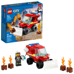 City Fire Hazard Truck
