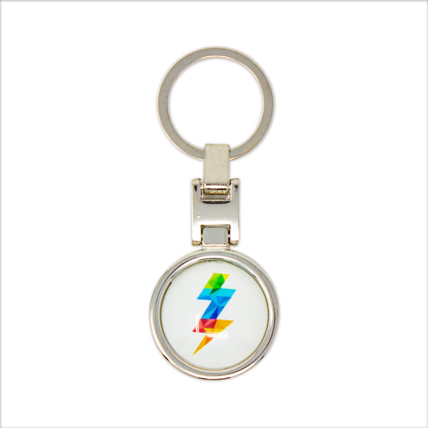 Soobub Round Key Ring