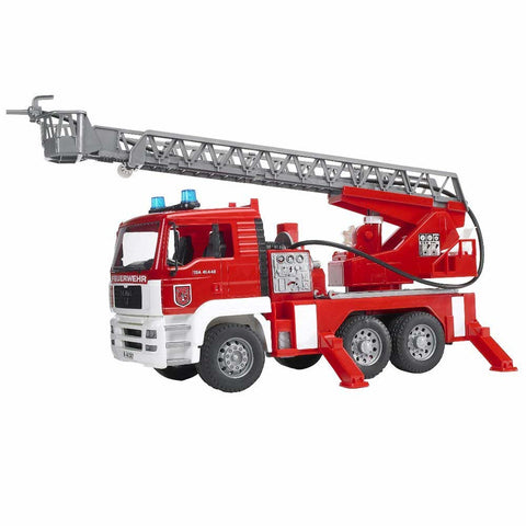 MAN TGA Fire Engine with Ladder Water Pump and Lights/Sound