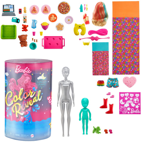 Barbie Color Reveal: Slumber Party Giftset
