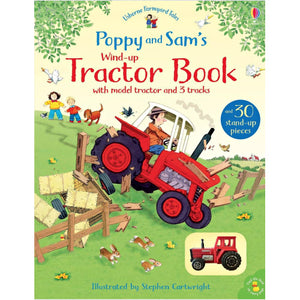 Poppy and Sam's Wind Up Tractor Book