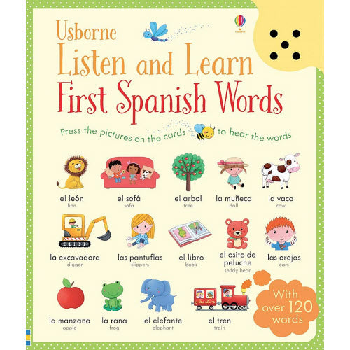 Listen and Learn First Spanish Words