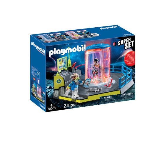 Playmobil Space Superset Galaxy Police Rangers