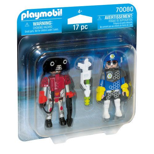 Playmobil Space Police Officer and Thief