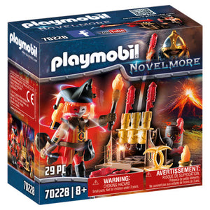 Playmobil Novelmore Burnham Raiders Fire Master