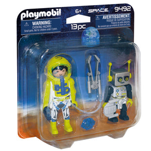 Playmobil Space Astronaut and Robot