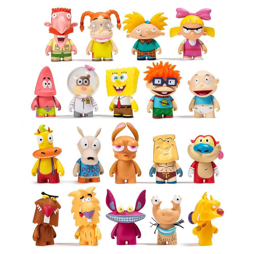 90's Nickelodeon Mini vinyl Figures