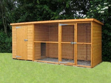 Load image into Gallery viewer, Sussex dog kennel and run