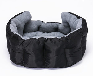 Loving Care Pet Products Ultra Supreme Nesting Style Pet Bed (SMALL = 41cm W x 41cm L x 23cm H, FAITHFUL GREY)
